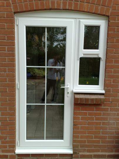 Doors double glazing replacement doors stratford upon for Double back doors