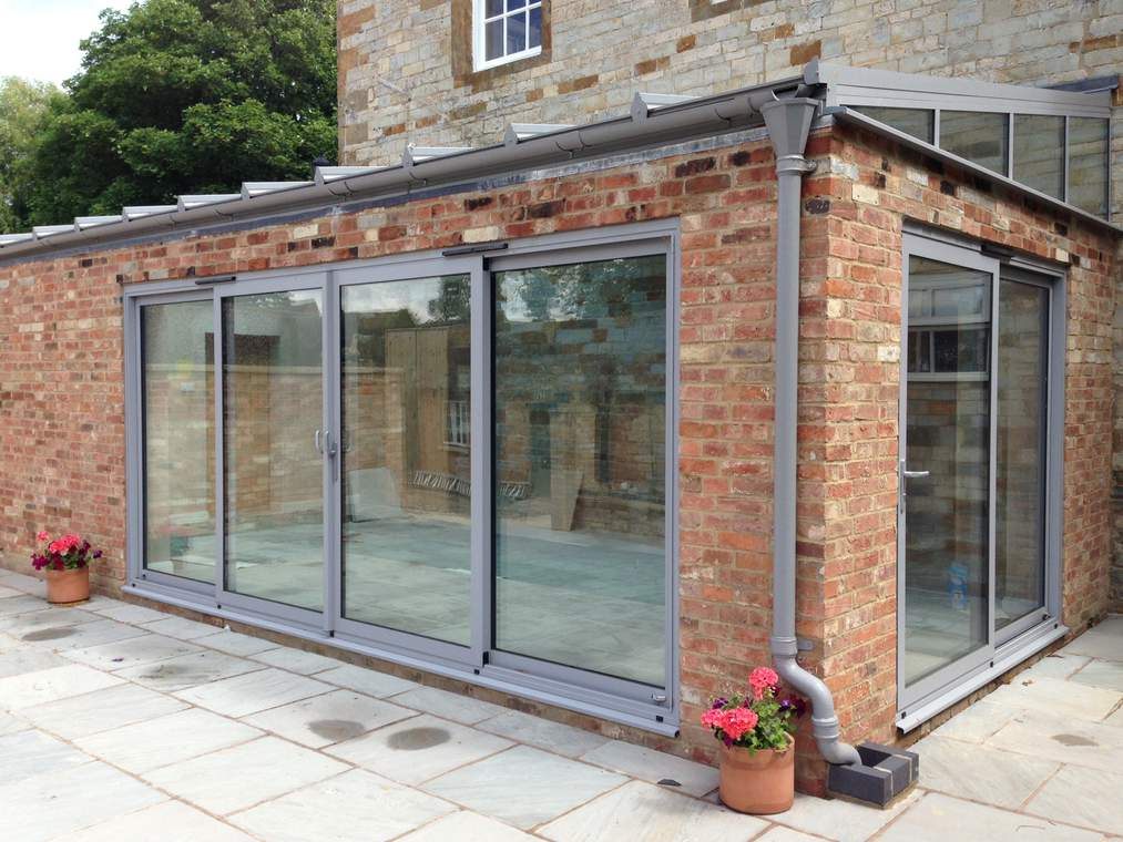 Sliding patio doors avonbridge conservatories and for Outdoor sliding doors