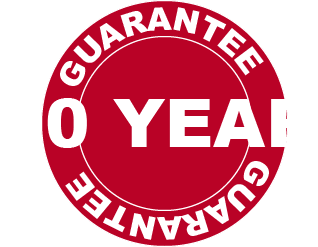 We offer a 10 year gurantee