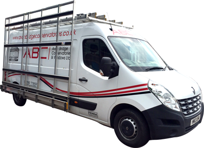 Avonbridge Conservatories Installation Vehicle